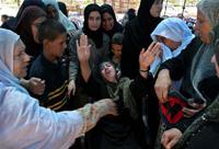 Víctimas en Beit Hanoun de la agresión Israelí